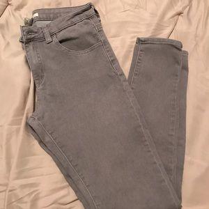 Grey Skinny Jeans size 27